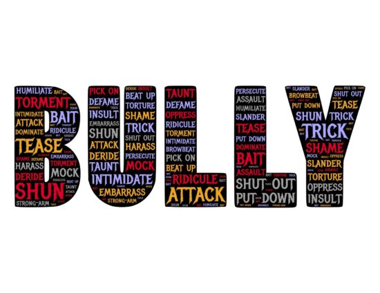 Bullying, what it is in words.